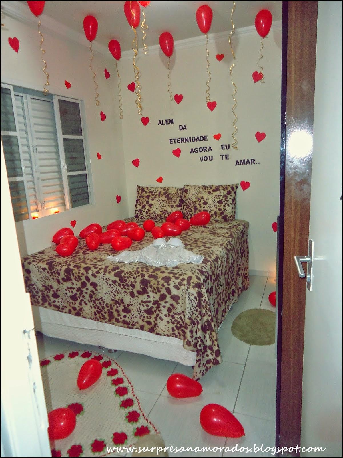 Exclusiva Dicas de coisas românticas para fazer no dia  ~ Surpresa No Quarto Do Meu Namorado