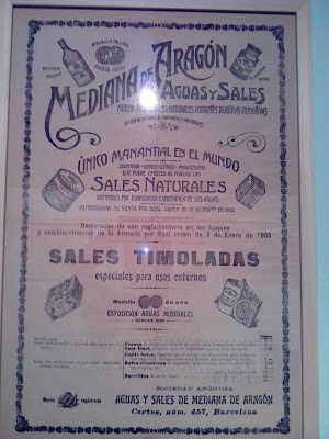 Salada de Mediana Naturaleza Magica, fuentes curativas de Zaragoza