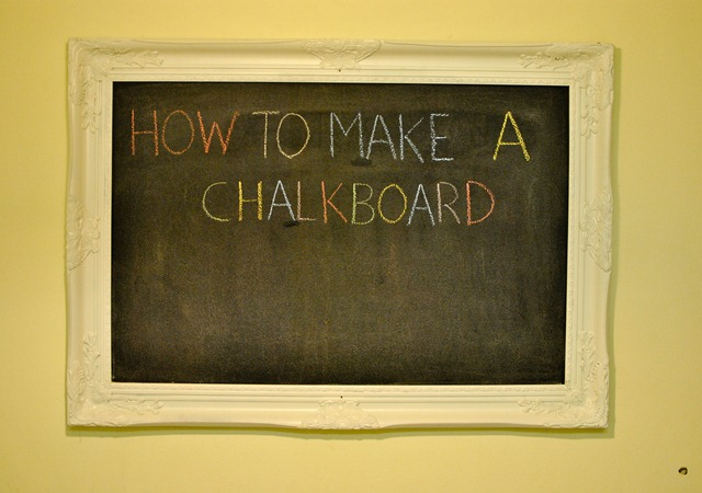 diy how to make a chalkboard-4