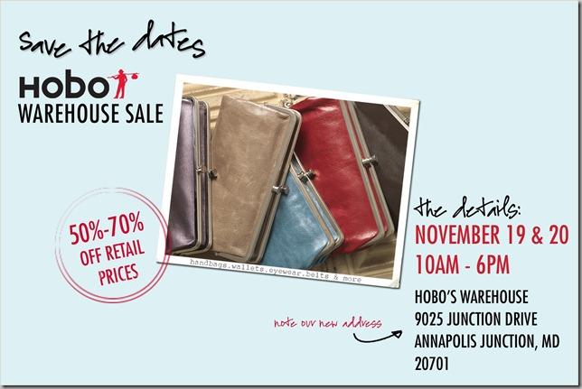 Hobo Warehouse Sale 2