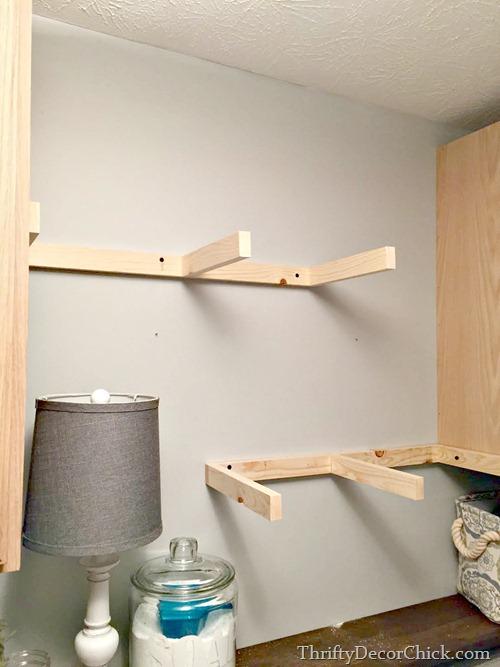 brackets for floating shelves