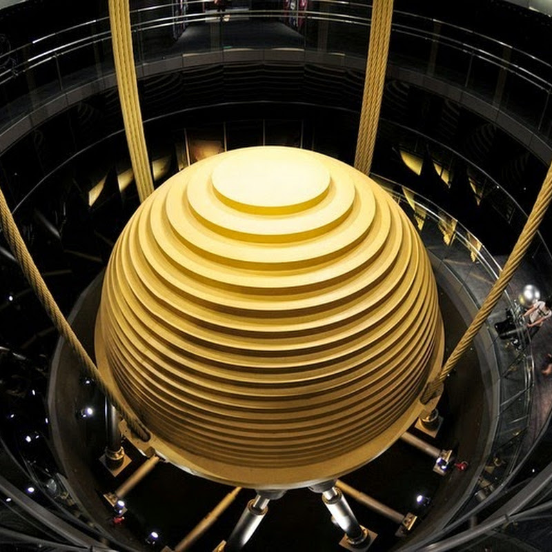 The 728-Ton Tuned Mass Damper of Taipei 101