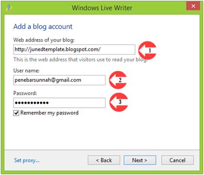Menulis dan Memposting Artikel Blog dengan Windows Live Writter 03