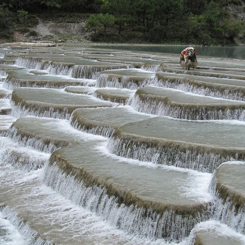 White Water Terraces of Shangri-la, China