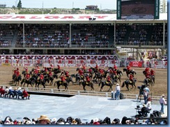 9350 Alberta Calgary - Calgary Stampede 100th Anniversary - Stampede Grandstand RCMP Musical Ride
