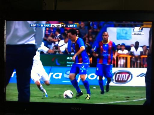 La Liga no es de dos! Levante 1-0 Real Madrid