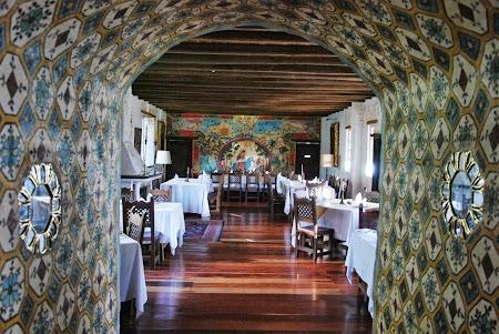 Cazare traditionala Ecuador: Restaurant annex Cusin