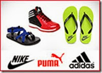 Myntra offer on Puma, Reebok, Fila Flip Flops & Sandals – Extra 40% OFF, No Minimum Purchase