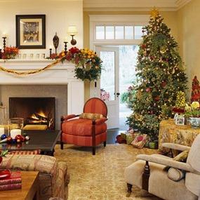 Decoraciones tradicionales de Navidad