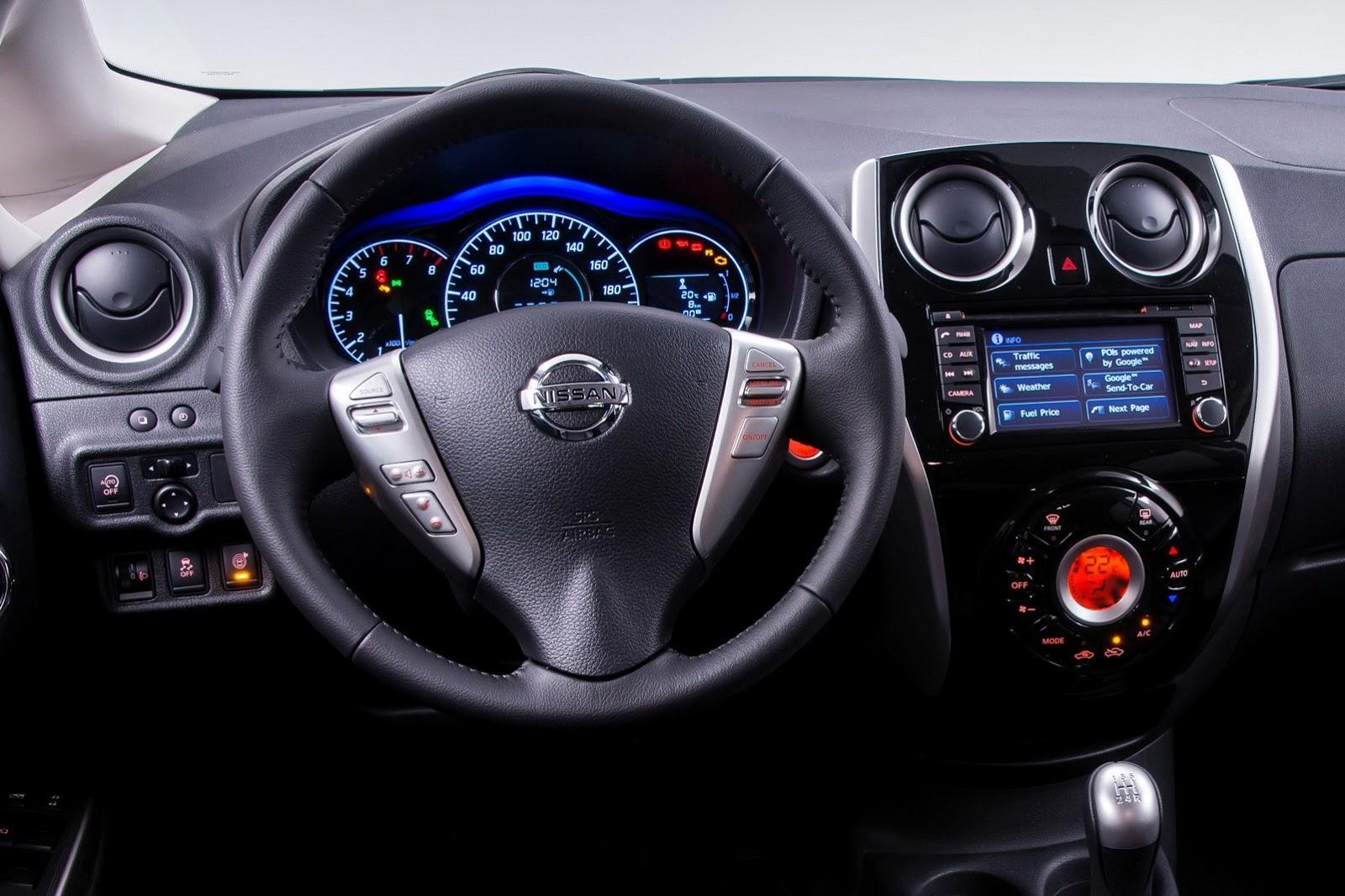 Etiquetas: Nissan , Nissan Note , Nissan Note 2014 , Salón
