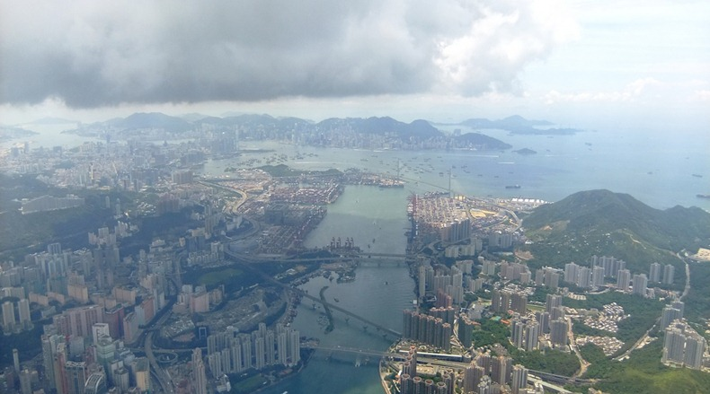 Hong Kong by Air