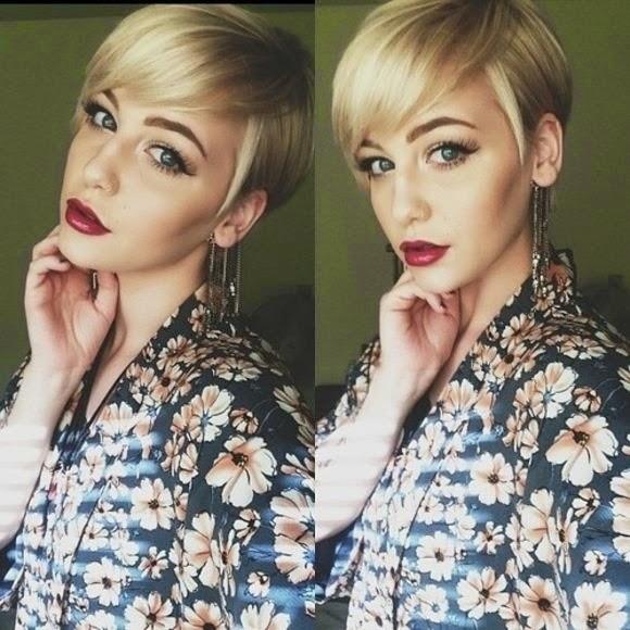 Short Pixie Cuts for Long Faces