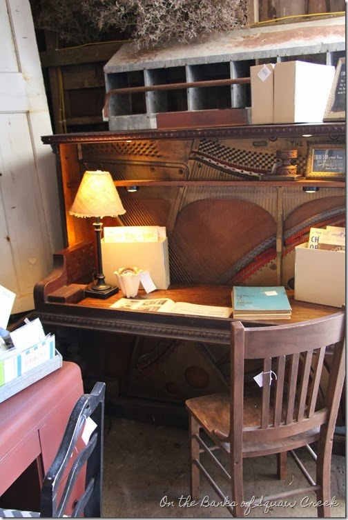 upcycled upright piano