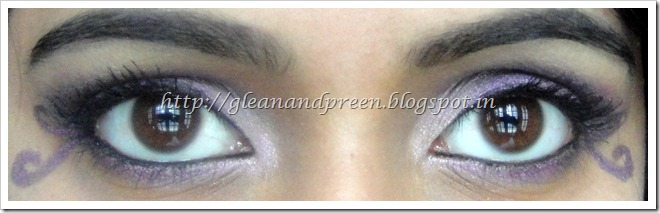 Amethyst Eye MakeUp