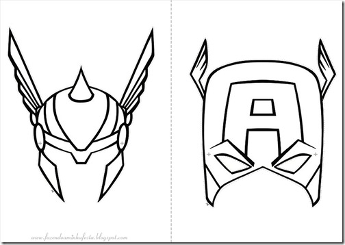 Los avengers 2 para colorear - Imagui