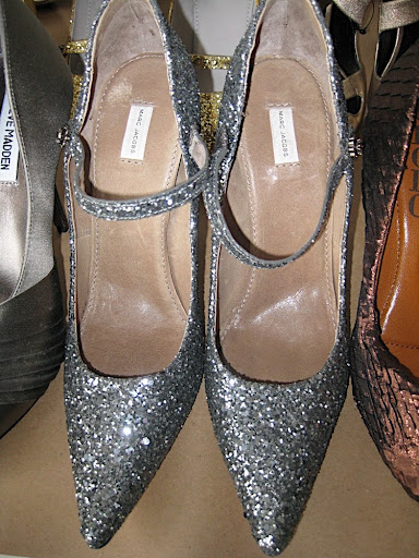 Marc Jacobs' sparkly Mary Janes.