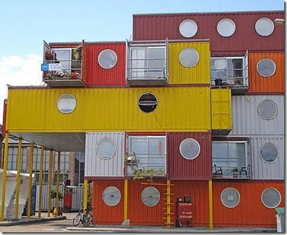 Container City London