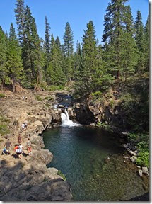 Mt. Shasta and waterfalls 003