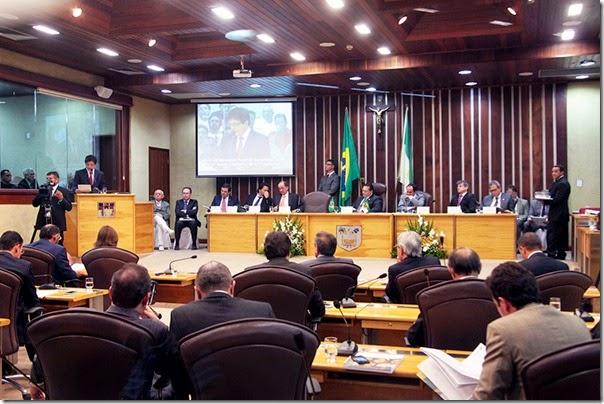 Mensagem na Assembleia fot Ivanizio Ramos2