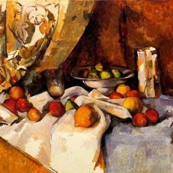Paul Cezanne (1895-1898): Still Life with Apples. Museo de Arte Moderno. New York. Postimpresionismo
