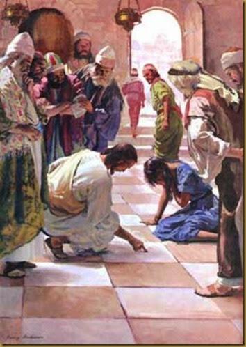 JESUS Y ADULTERA