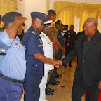 tn_PREZ MAHAMA IN A WARM HANDSHAKE WITH AIR VICE MARSHAL SAMSON-OJE.JPG