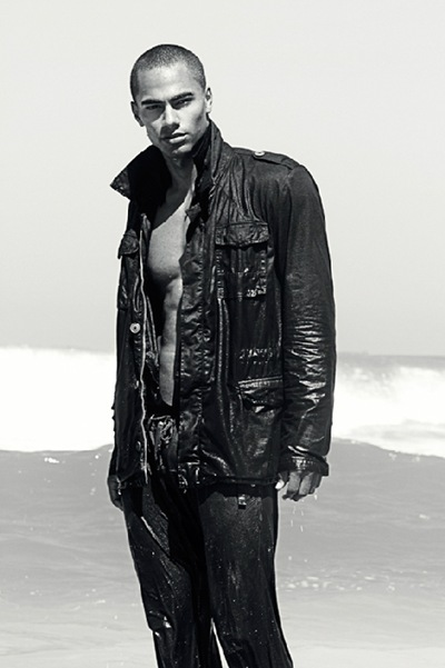 William Prazeres by Prema Surya, 2011. Styled by Suede de Oliveira, Jr.