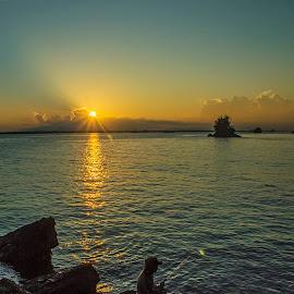 Fisher by Abu Bakar - Landscapes Sunsets & Sunrises