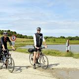 Morten og Mette er klar på cyklerne igen.