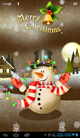 Screenshot of FGG Snowman Wallpaper Lite
