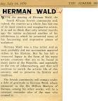 Herman Wald