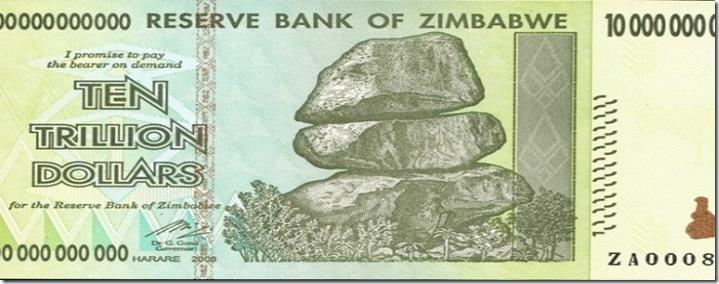 GELD zimbawe