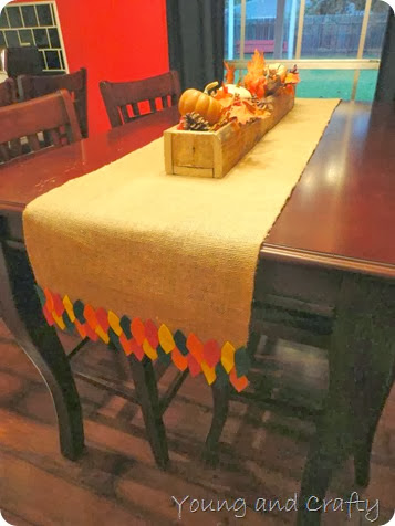 Fall table runner 9