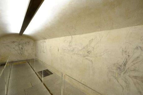 desene Michelangelo - camera secreta