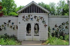 Butterfly house at Lost River Cave