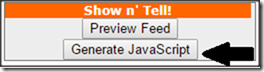 click-generate-javascript-feed2js