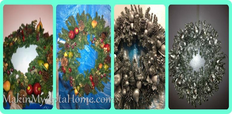 wreath goes silver