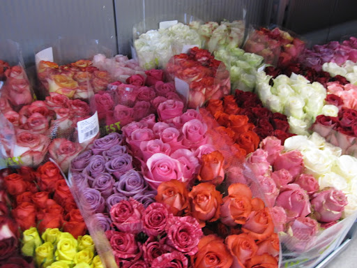 You can buy the roses and arrange them yourself or they will make arrangements for you.