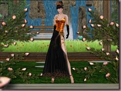 G&T Creations Sparkel gown orange gold_004