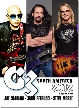 Boletos g3 en Mexico Df 2012 Joe Satriani John Petrucci Steve morse