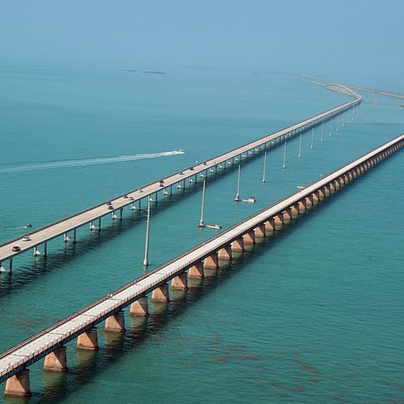 Seven Mile Bridge in Florida