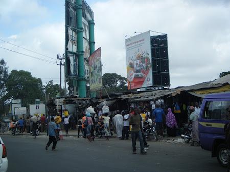 Imagini Kenya: Piata Mombasa