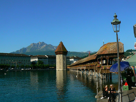 Imagini Elvetia: Podul din Lucerna