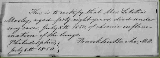 Letitia-Mosley-death-1850
