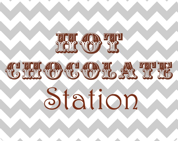 Hot Chocolate Station copy