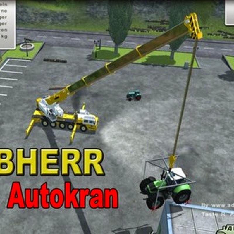 Farming simulator 2013 - Truck Crane Liebherr lift frame v 1.0 Final