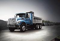 CNG-fueled Navistar International WorkStar truck with 7.6-liter MaxxForce DT spark-ignition engine by ESI-Emission Solutions, Inc.