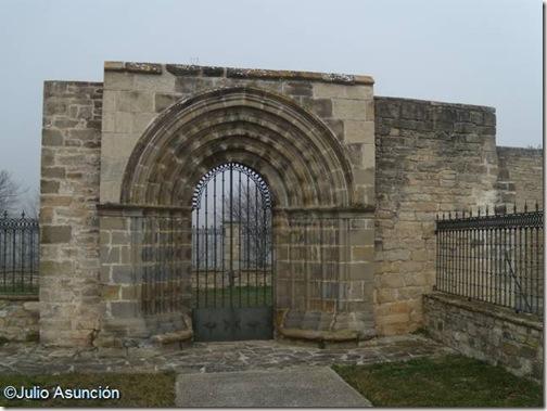 Unciti- antigua iglesia -Valle de Unciti