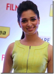 Actress Tamanna at 60th Idea Filmfare Awards South Press Conference Photos