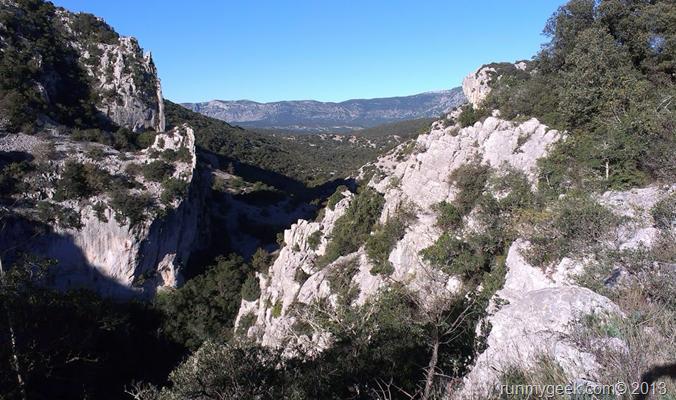 Gorges du Lamalou 30km avant la fin